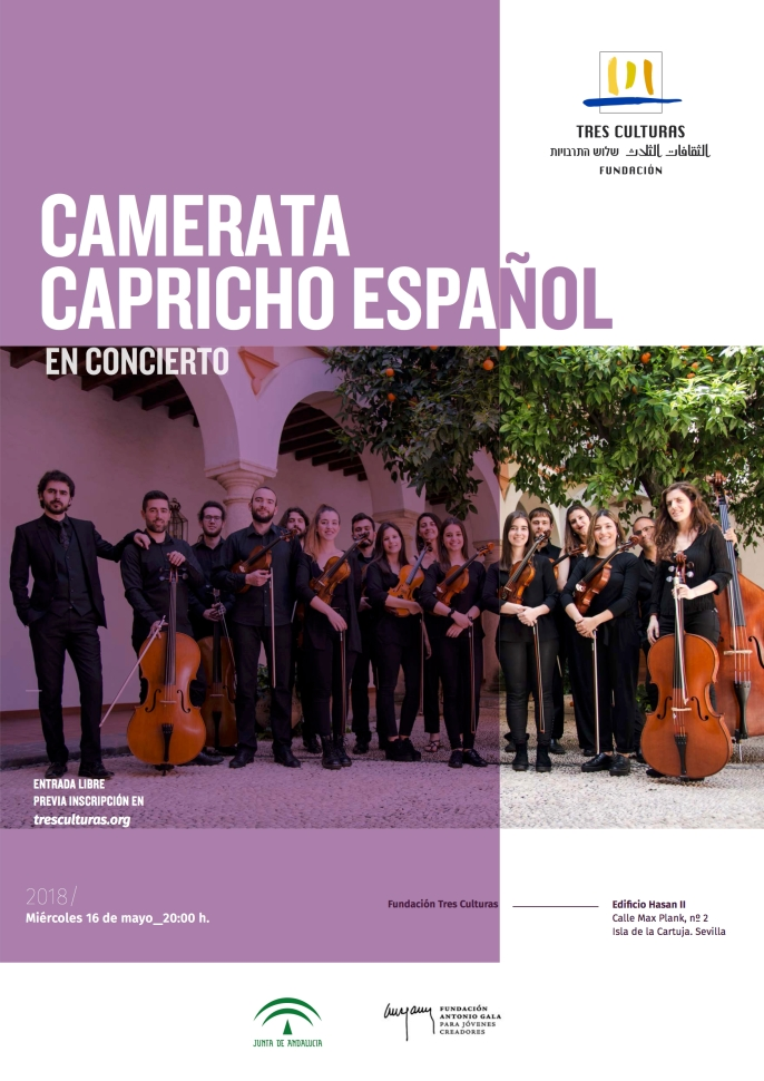 A3_Cartel_Concierto camerata capricho español